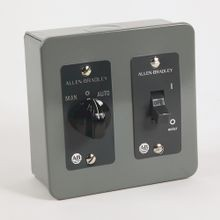 Allen-Bradley, 600-TAX5, 600 NEMA Single Phase Manual Starting Switches, Switch Only, 2-Pole, Toggle Type, Type 1 General Purpose Enclosure, Surface Mounting