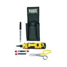 Klein® VDV027-813 Punchdown LAN Installer Starter Kit