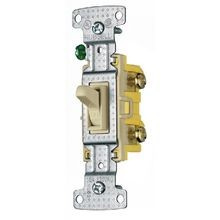 Bryant Electric tradeSELECT® RS315W 3-Way Toggle Switch, 120 VAC, 15 A, 1/2 hp