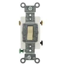 Leviton® CS320-2I 3-Way Toggle Switch, 120/277 VAC, 20 A, 1/2 hp