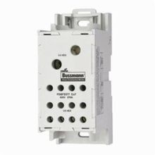 Bussmann® PDBFS-330 Finger-Safe Power Distribution Block, 600 VAC, 380 A, 1 Poles, 6 AWG to 500 kcmil Wire