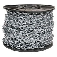 Appozgcomm NEER™ JC Jack Chain, 100 ft Spool, For Use With Suspending Lighting Fixtures, Steel