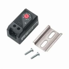 Hoffman D85 Normally Open Quick Acting Temperature Control Switch, For Use With Fan Control, 20 mA Max Load, Plastic