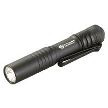 Streamlight, Key Chain Pen Light, 1.64 oz, 1 AAA Alkaline, Black, White, 35 Lumen, 38 m, 0.6 Inch