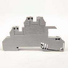 Allen-Bradley, 1492-J IEC Terminal Block, Two-Circuit Feed-Through Block, 2.5 mm (# 24 AWG - # 12 AWG), Standard Feedthrough, Gray (Standard),