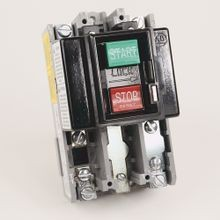 Allen-Bradley, 609-BOX, Manual Starting Switch, Push Button, 1 Phase, NEMA 1, Open Type Without Enclosure