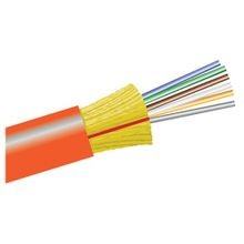Fiber Optic Cable, 62.5/125 ?m, Multi Mode, 6 Fibers, Indoor, Outdoor