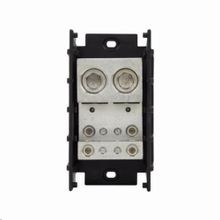 Bussmann® Magnum® 16528-1 Barrier Terminal Power Distribution Block, 600 VAC/VDC, 840 A, 1 Pole, 2 AWG to 600 kcmil Wire, Thermoplastic