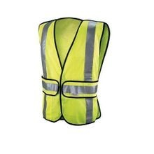 Greenlee® 01761-01XL High Visibility Tradesman Safety Vest, 2XL/3XL, Yellow, ANSI 2, Mesh Fabric