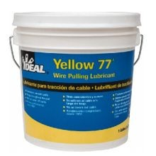 IDEAL® Yellow 77® 31-351 Wire Pulling Lubricant, 1 gal Pail, Paste, Yellow, 0.98