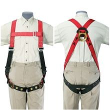 Klein® Klein-Lite® 87141 Light Weight Fall Arrest Harness, Unisex, Polyester Strap