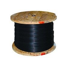 THHN Wire, Stranded, 2 AWG, 1 Conductor, Copper, 600 Volts, Black