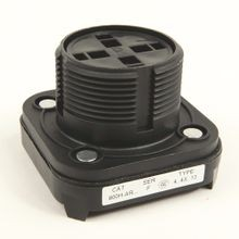 Allen-Bradley, 800H-AR6A2, 30.5mm Type 4/4X/13 Mom. Contact PB, Non-Illum., Red, Flush Hd, 2 NO