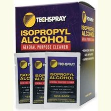 Techspray, Isopropyl Alcohol Wipes, 5.5 Inch, 50/Box, 140 mm, All-Purpose