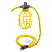 Woodhead® Pro-Yellow® 130111 String Lighting, A21 Incandescent Lamp, 120 VAC