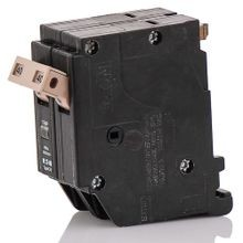 Cutler-Hammer CHF240 Type CHF Standard Circuit Breaker With Mechanical Trip Flag, 120/240 VAC, 40 A, 10 kA, 2 Poles, Common Trip