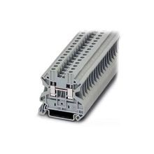 Eaton, Terminal Block, 6 AWG, 10.2 mm, Feed Through, Gray, 50/Pack