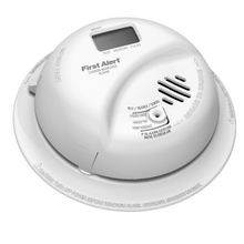 BRK® CO5120PDBN Carbon Monoxide Detector Alarm, Electrochemical, 9 VDC Battery, LCD Display, 85 dB