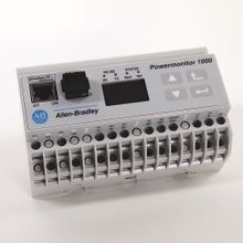 Allen-Bradley, 1408-EM3A-ENT, Powermonitor 1000, Energy Monitor EM3, 120/240V AC Power Supply, Serial RS-485 Communications (DF1 Full/Half Duplex, Modbus RTU) and Ethernet Communications (Ethernet/IP and Modbus TCP)