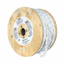 Greenlee® 455 Composite Double-Braided Rope, 1/2 in Dia x 300 ft, 2200 lb Load, Polypropylene, White