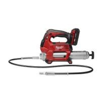 Milwaukee® M18™ 2-Speed Cordless Grease Gun Kit, 14.5 oz Cartridge, 10000 psi Operating
