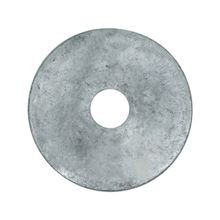 Round Plate Washer, Galvanized
