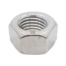 316 SS Hex Nut