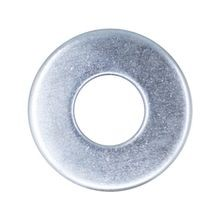 #6 LOW CARBON STEEL USS FLAT WASHER, PLATED