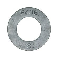 F436 Flat Washer, Galvanized