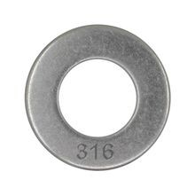 1 1/2 316 STAINLESS STEEL COMMERCIAL FLAT WASHER