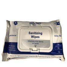 Beyond 45 Count Antibacterial Sanitizing Wipes