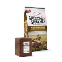 American Stockman® Big 6® Mineral Salt Block