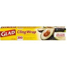 Cling-Wrap Plastic Wrap 200 Sq Ft Roll