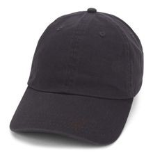 Garment Washed Cap, Charcoal