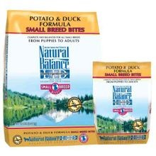 Diet Small Bites Duck and Potato Formula Dog Food