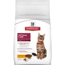 Adult Optimal Care Chicken Recipe Dry Cat Food
