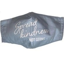 "Care Cover Collection Light Blue ""Spread Kindness"" Face Mask"