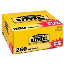 UMC Handgun 9mm Metal Case 115 Grain Valu Pack Ammo -  250 Rounds