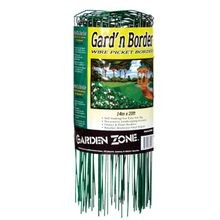 Border Wire Picket Fence 20 Ft Roll