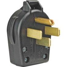 30-Amp 125/250-Volt Commercial Grade Dryer Angles Plug