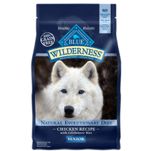 Wilderness Grain Free Senior Dog Chicken Formula Dry Dog Food - 11 lb