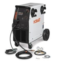 Ironman 230 MIG Welder 250 Amp With Wheel Kit & Cylinder Rack