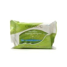 Organyc Intimate Hygiene Wet Wipes - 20 Pack
