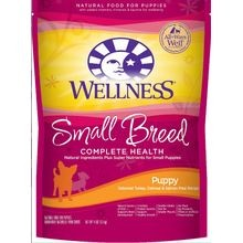 Complete Health Small Breed Puppy Natural Turkey, Salmon & Oatmeal Dry Dog Food - 4 lb