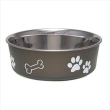 Bella Bowls Classic Espresso Medium Pet Dish