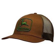 Retro Look Green Logo Mesh Hat