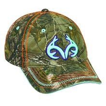 Ladies' Camo and Multi Color Cap