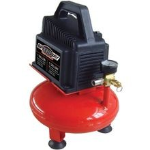 Air Compressor With Inflation Kit, 1/3 Hp, 1 Gal, 100 Psi