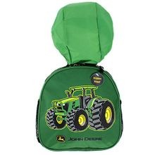 Boys' Tractor Toddler Hooded Backpack