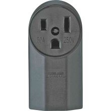 50A 3 Wire Surf Ground Receptacle